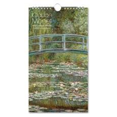 Geburtstagskalender & Kartenmappe Monet