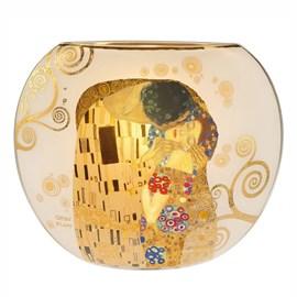Glas Tischlampe Klimt 'Der Kuss'