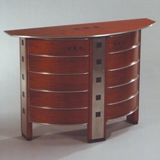 Art Deco Wandschrank Newberry