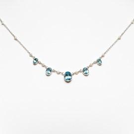 Halskette Aqua Topaz