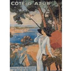 Wandteppich/Gobelin Cote d'Azur