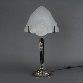 Französisch Art Deco Tischlampe Triangle