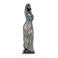 Skulptur Tender Madonna