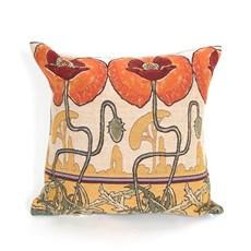Kissen Art Nouveau Pavots