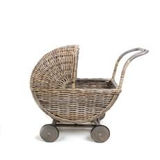 Korb Kinderwagen Retro