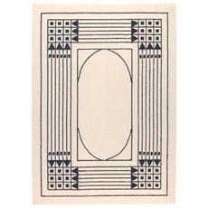 Geometrische Jugendstil Teppich 1905 Wien