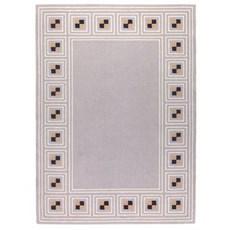 Geometrische Jugendstil Teppich 1903 Q