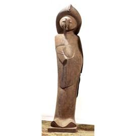 Chinese Maiden Skulptur