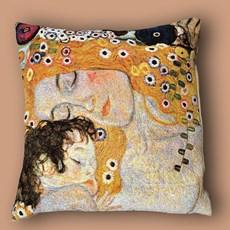 Klimt Kissen Mother and Child