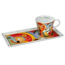 Kaffee set Delaunay
