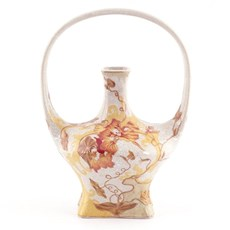 Jugendstil Vase Sommer Glühen