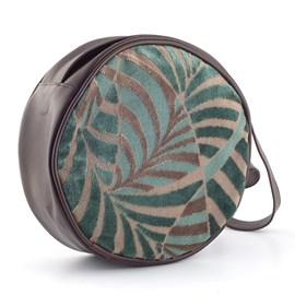 Handtasche Rondeau Palm Blaugrün