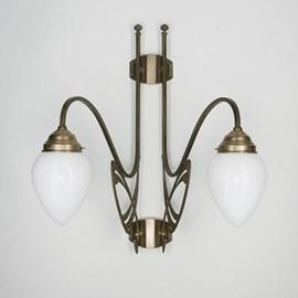 Victor Horta 2 Leuchten Wandleuchte Eleganz