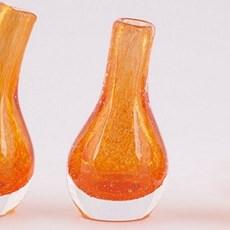 Orange! Set von 2 Vasen Pisa