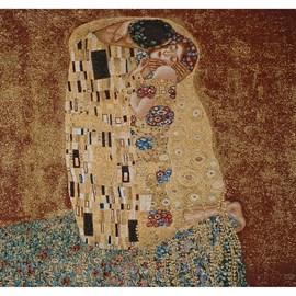 Wandteppich Der Kuss