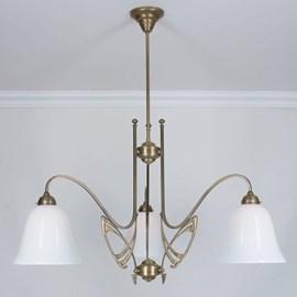 Victor Horta 3 Leuchten Kronleuchter Eleganz