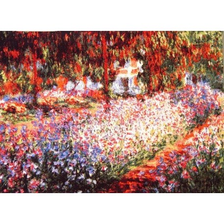 Wandteppich Iris in Monets Garten