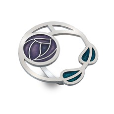 Schal ring Mackintosh Rose & Blumen
