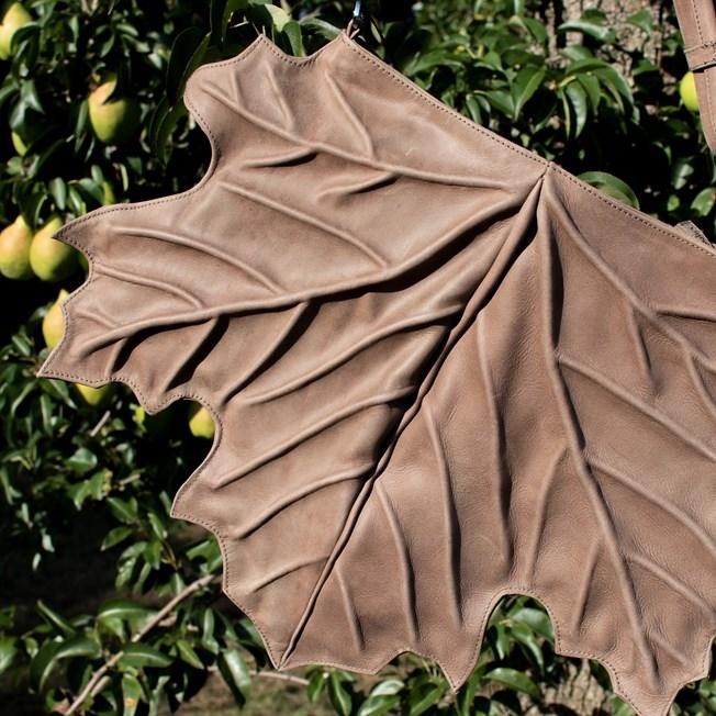 Handtasche Maple Leaf Taupe