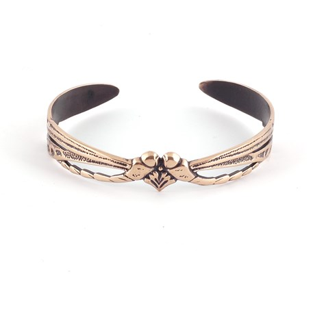 Armband Libelle Love Messing