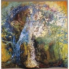 Wandteppich Frühlingsbaum