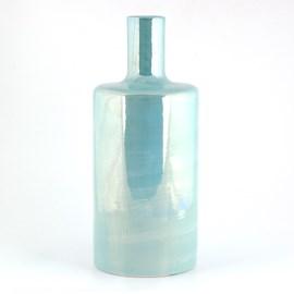 Zylinder Vase Luster Turkoois