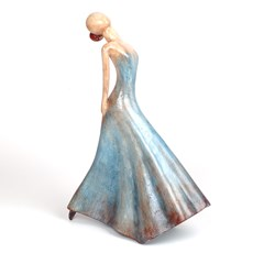 Skulptur Ballerina in der Haltung