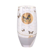 Vase Golden Butterflies