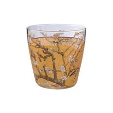 Teelicht Mandelbaum Gold