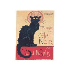 Gobelin Chat Noir