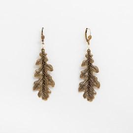 Ohrringe Eichenblatt