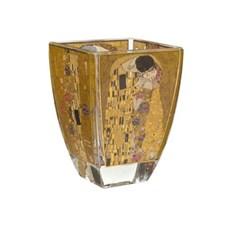 Glas-Teelicht Gustav Klimt | Der Kuss