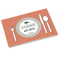 Placemat Block Art Deco