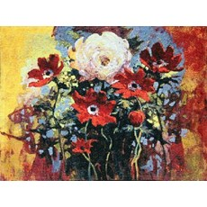 Wandteppich Bouquet