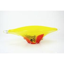 Glasschüssel/Objekt Yellow