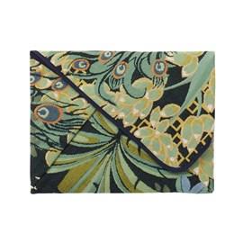 Origami Mappe / Clutch Peacock Jungle