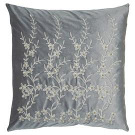 Kissen Lavendel Grau