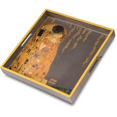 Tablett Der Kuss | Klimt