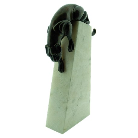 Skulptur Art Deco Panther