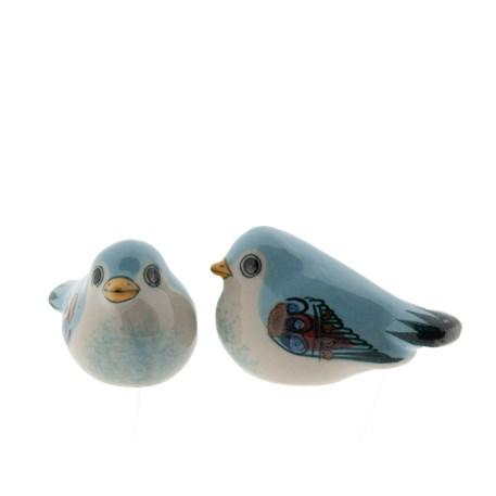 Vogel-duo Keramik