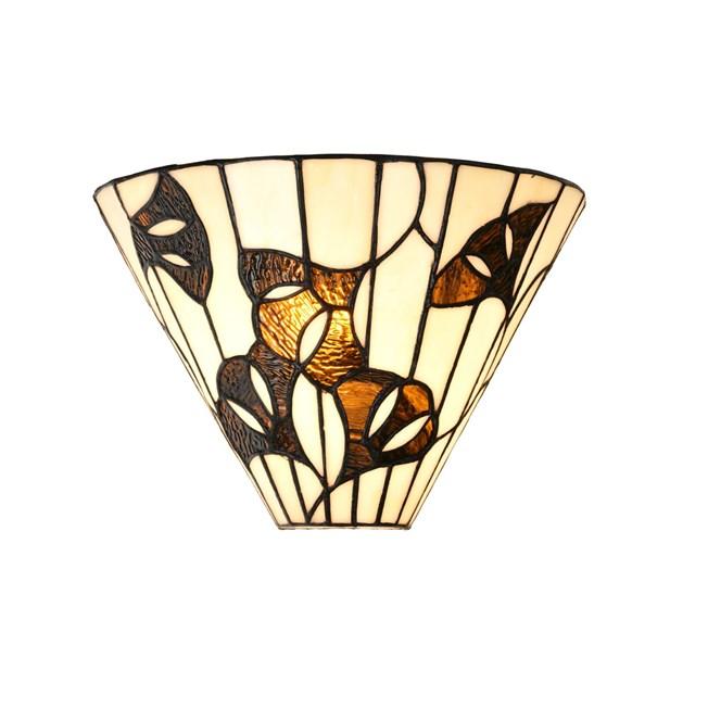 Tiffany Wandleuchte Ginkgo Leaf