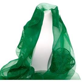 Schal Grüne Seide