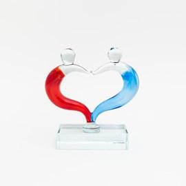 Glasskulptur Liebe