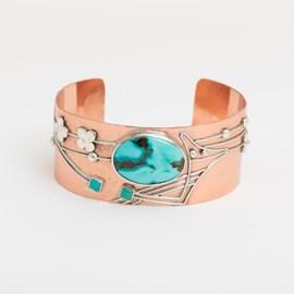 Armreif Aquamarine