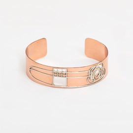 Armreif Copper Mackintosh