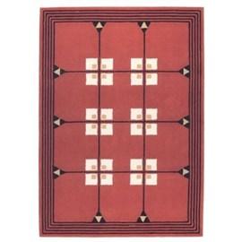 Geometrisch Art Nouveau Teppich 1903