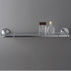 Badezimmer Brett Chrom mit Glas