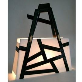 Art Deco Glas Tasche Collection Stil