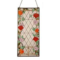 Tiffany Fensterbild Rozenboog