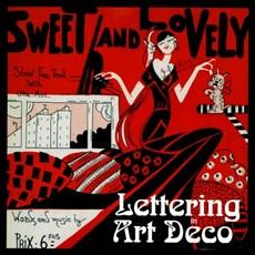 Karten Art Deco Sweet en Lovely